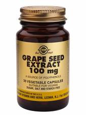 Solgar Grape Seed Extract 100mg (30 Capsules)