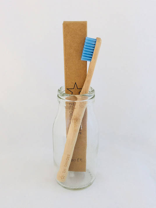 Do Gooder Soft Natural Handle Ecobrush Bamboo Toothbrush