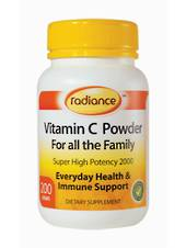 Radiance Vit C Super High Potency, 200g Powder