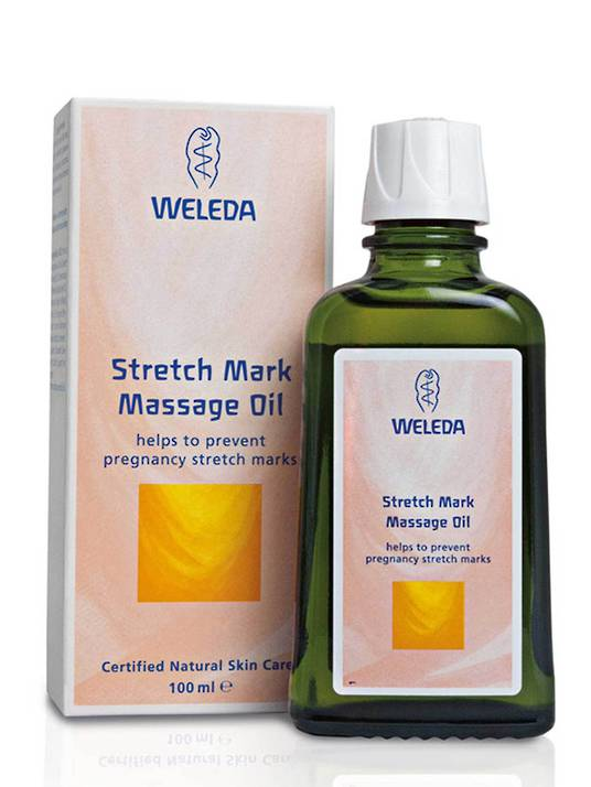 Weleda Stretch Mark Massage Oil, 100ml (Pregnancy Body Oil)