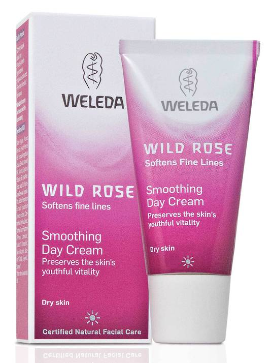 Weleda Wild Rose Smoothing Day Cream, 30ml