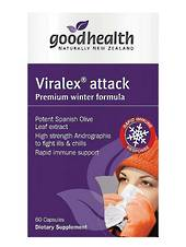 Good Health Viralex Attack, 30 or 60 caps