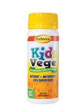 Radiance Kids Vege, 60 Tablets