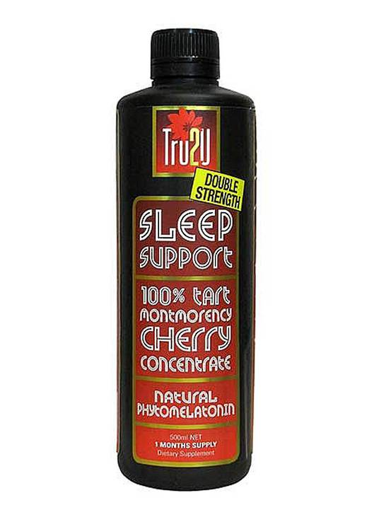 Tru2U Sleep Support 500ml Double Strength Tart Cherry Juice Concentrate,