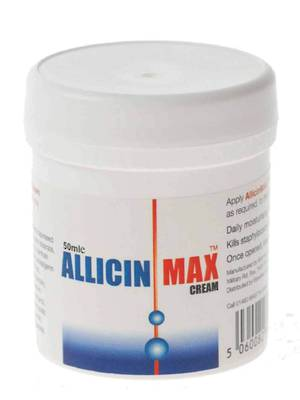 Allicin Max Cream - Antiseptic/Antifungal Cream (50ml)