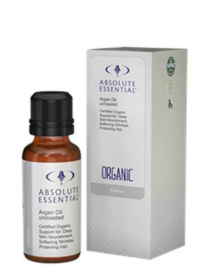Absolute Essential Organic Raw Argan Oil, 25ml or 100ml