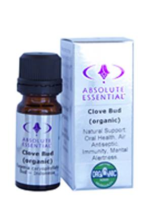 Absolute Essential Organic Clove Bud, 10ml