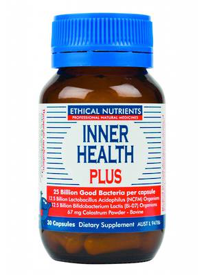 Ethical Nutrients Inner Health Plus, 30 and 90 Capsules