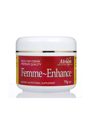 Femme-Enhance Natural Progesterone Creme - 75g pot