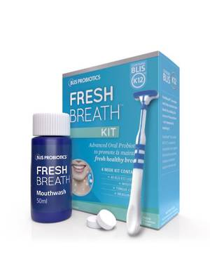 FreshBreath Kit with BLIS K12TM