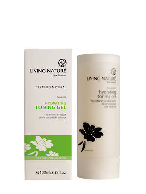 Living Nature Hydrating Toning Gel (oily/combination), 100ml