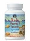Nordic Naturals Omega-3 Gummies (60 chewy tangerine fish oil for ages 2+)