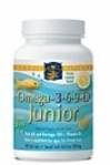 Nordic Naturals Omega 3-6-9 D Junior (90 soft gels lemon for ages 5+)