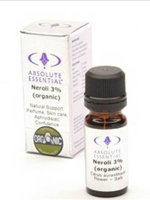 Absolute Essential Organic Neroli 3%, 10ml