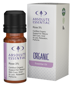 Absolute Essential Organic Rose in jojoba 3%, 10ml