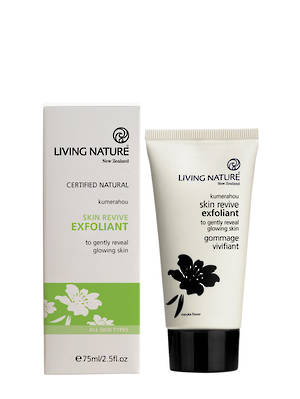 Living Nature Skin Revive Exfoliant (all types/anti-acne), 75ml