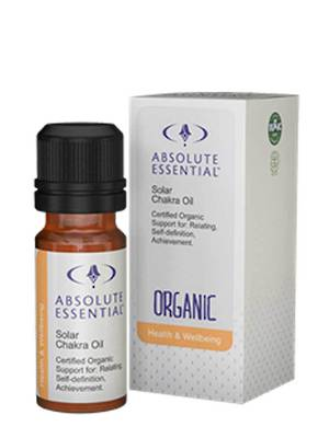 Absolute Essential Solar Chakra Oil (Organic), 10ml