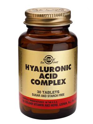 Solgar Hyaluronic Acid Complex 120mg (30 Tablets)