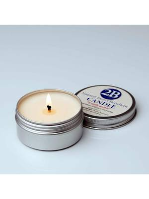 2B Natural Insect Repellent Candle, 12 hours burn time