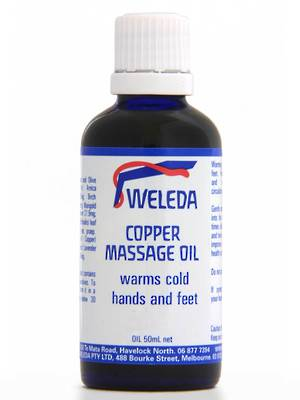 Weleda Copper Massage Oil, 50ml