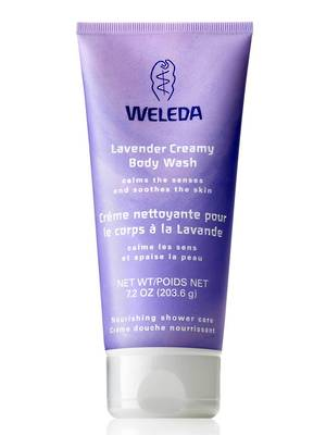 Weleda Lavender Creamy Body Wash, 200ml