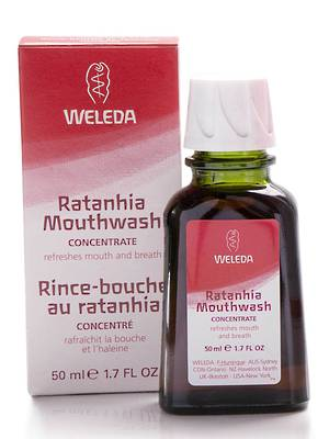 Weleda Ratanhia Mouthwash concentrate, 50ml