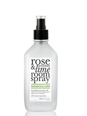 The Organic House - Rose Geranium & Lime Room Spray